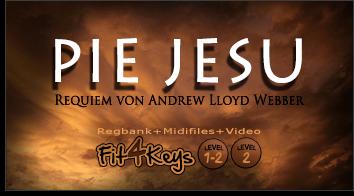 Fit4Keys - Produktbild für Pie Jesu