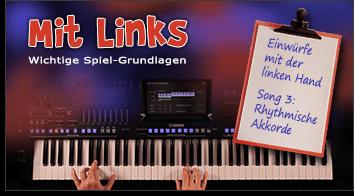Fit4Keys Basics - Mit Links - Rhythmische Akkorde