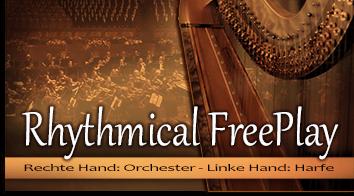 Produktbild der registrierungen: Rhythmical FreePlay - Orchester & Harfe