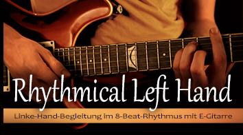 Rhythmical Left Hand - 8-Beat & Guitar