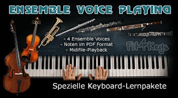 Die Übersicht über die Fit4Keys - Ensemble Voice Lernpakete