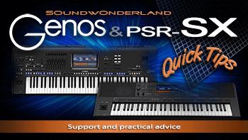 Video-Untestützung für Yamaha Genos,  PSR-SX900 und PSR-SX700
