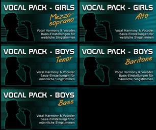 Vocal Packs