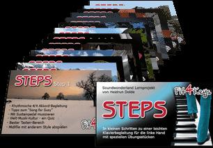 "Fit4Keys Piano Projekt ""Steps"""