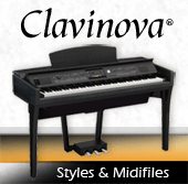 Soundwonderland Midifiles und Styles für Clavinova