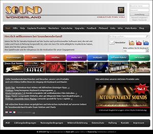 Alte Soundwonderland-Optik