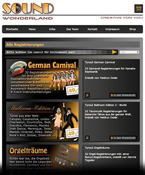 Die alte Registrierungs-Seite