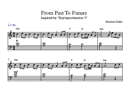 Screenshot Noten - From Past To Future