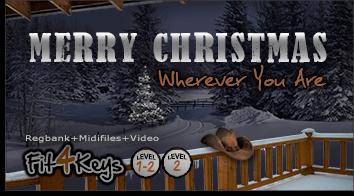 Produktbild Fit4Keys - Merry Christmas Wherever You Are
