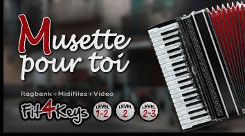 Produktbild Fit4Keys - Musette pour toi