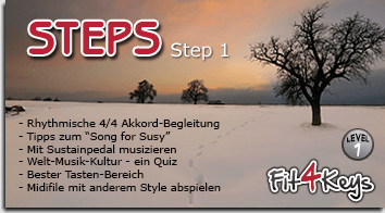 Step 1- Song for Susy