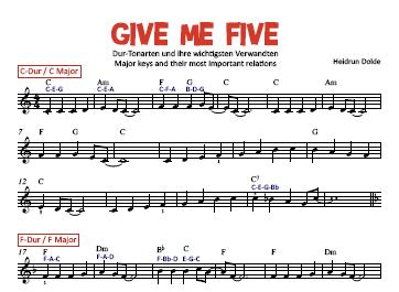 Give Me Five: Noten-Vorschau
