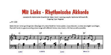 Noten-Vorschau - Bassschlüssel-Version