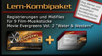 Produktbild vom Lern-Kombipaket Movie Evergreens 2 - Water and Western