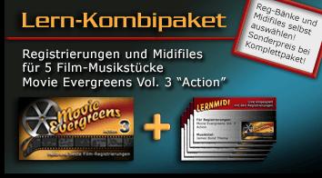 Produktbild vom Lern-Kombipaket Movie Evergreens 3 - Action